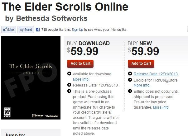 Eso online release date